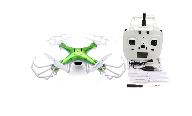 JJRC H5P 6-Axis Gryo With 2.0MP Camera One Key Return Headless Mode RC Quadcopter RTF 2.4GHz (with 1100mAh Battery )
