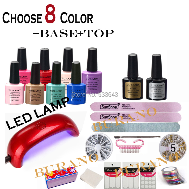 manicure set UV Gel Nail polish Sets nails & tools nail kits set