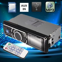 2016 Brand New Car/Vehicle Audio Stereo In-Dash MP3 Player Radio FM USB SD AUX input Receiver(China (Mainland))