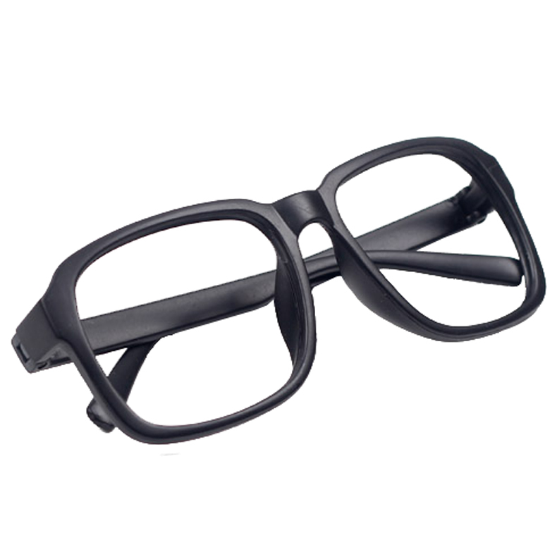 Matte Black Glasses Frame : 2015 Unisex Fashion Stylish Hipsters Decorative Eyeglass ...
