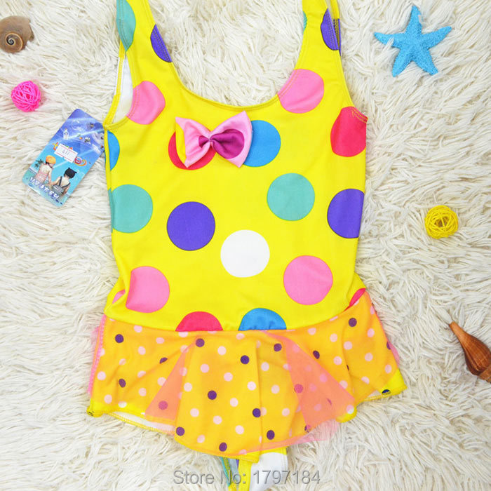 2015 New Arrival Infantil Baby Swimming Bathing Suit Swimwear For Girl Kids Summer Beach Wear Clothing Free Shipping(China (Mainland))