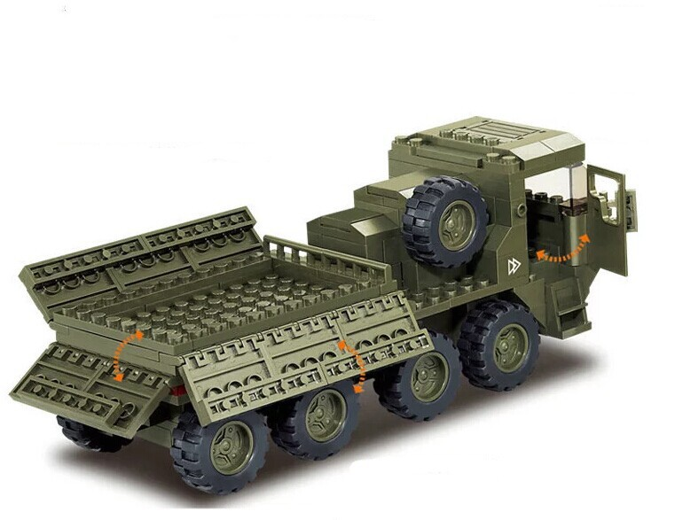 Military Vehicle Toys For Boys : Pcs set military toy modern warfare army truck