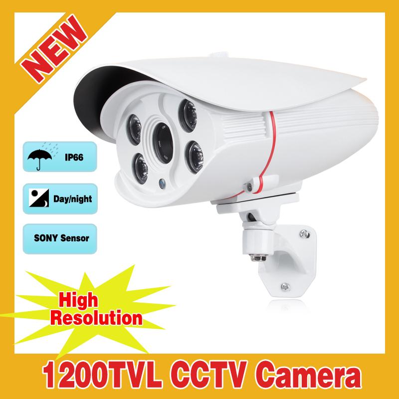 High Resolution 1200TVL HD 1/2.5 SONY IMX138 Sensor Powerful Array IR Waterproof Outdoor Security Camera CCTV Night vision<br><br>Aliexpress
