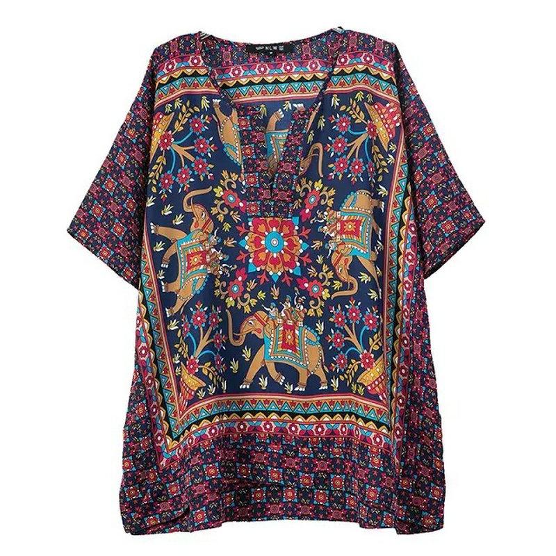 Mulheres Tops de verão Casual Floral Chiffon casuais queda capuz Blusas Mujer Uzun Gomlek flor Blusas