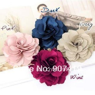 Free shipping~ Wholesale Fashion hair Jewelry, flower hairpin&brooch,beautiful hair accessories+ free gifts(F-12)