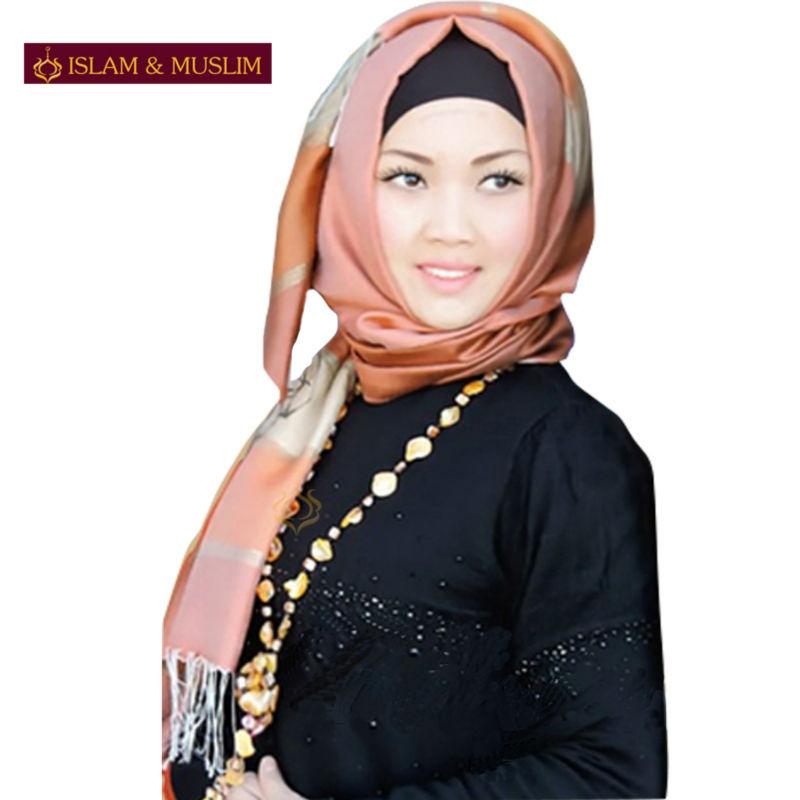 FREE SHIPPING new style headband muslim women instant red turban plain shawl pashmina islamic turkey latest hijab fashion scarf(China (Mainland))