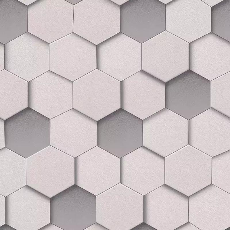 Geometric wallpaper b q 20170724212209 for Wallpaper pvc 3d