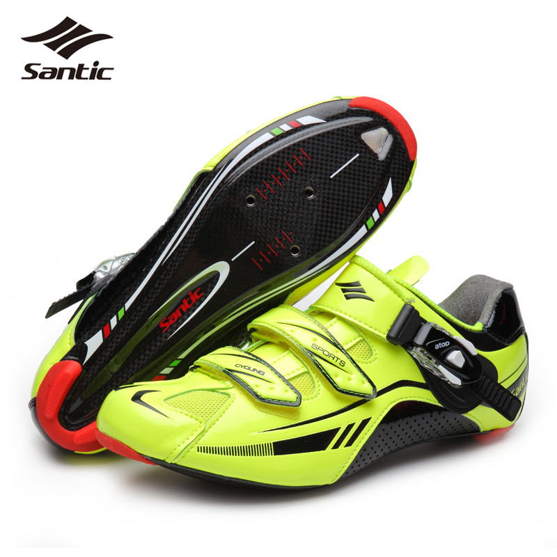 SANTIC Road Bike Shoes Quality Carbon Mens Cycling Shoes Self-Locking Triathlon Athletic Bicycle Shoe Zapatillas Ciclismo Men<br><br>Aliexpress