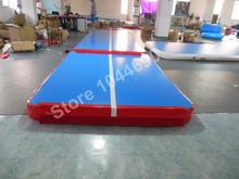 Free shipping 4*2m inflatable air track for sale (Free pump + repair kits)(China (Mainland))
