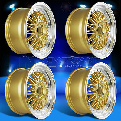4PC/Set for LEXUS IS250 IS300 GS300 GS400 SC400 SC430 +34 Offset 18'' x 9'' Car Alloy Wheels Rim Gold Machined Lip Free Shipping(China (Mainland))