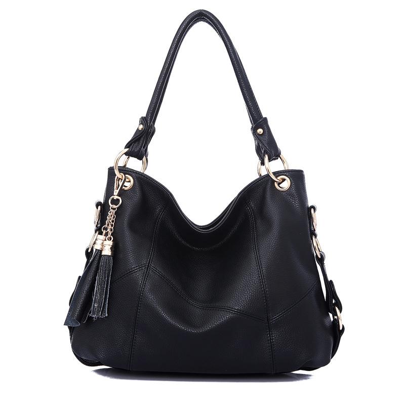 2016 new fashion luxury handbags women large capacity casual bag ladies pu leather office tote bags bolsos feminina(China (Mainland))