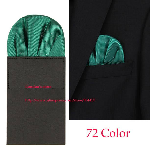 New Men's Pre Folded Pocket Square 72 Color Hanky Card Crown Insert Purple Free Shipping 100 pcs(China (Mainland))