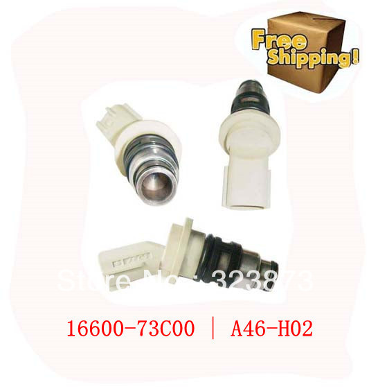 ORIGINAL Nissan Injector Micra K11 97R Fuel Injector A46-H02 | 16600-73C00 for NISSANMARCH II (K11)199201 - 200302(China (Mainland))