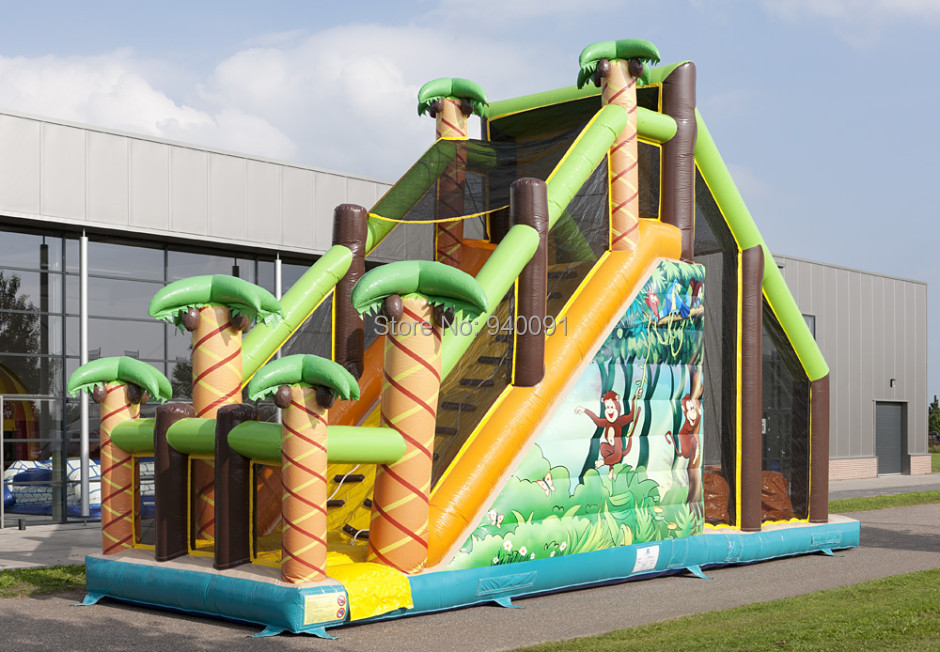 Factory direct inflatable trampoline, inflatable castle, inflatable slide, obstacle! Inflatable bounce CHT-048(China (Mainland))