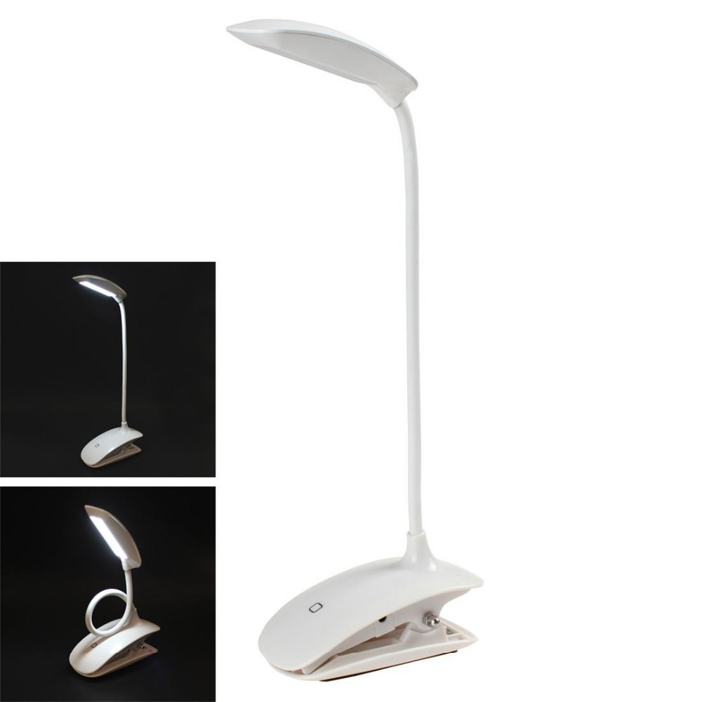 New Smart 28 Leds Dimmable Clip On Usb Rechargeable Touch