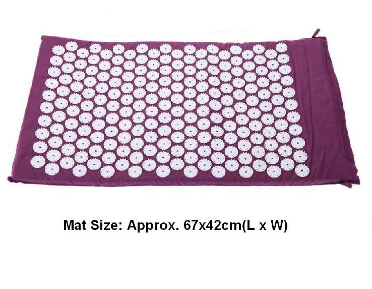(Размер appro.67 * 42 см) иглоукалывание массажер точечный массаж иглоукалывание йога коврик мата