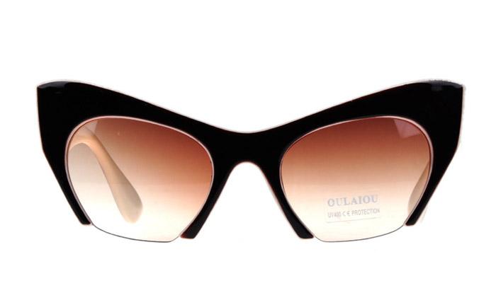 Round Men Women Sun Glasses Eyewear Eyeglasses Plastic 2015 New