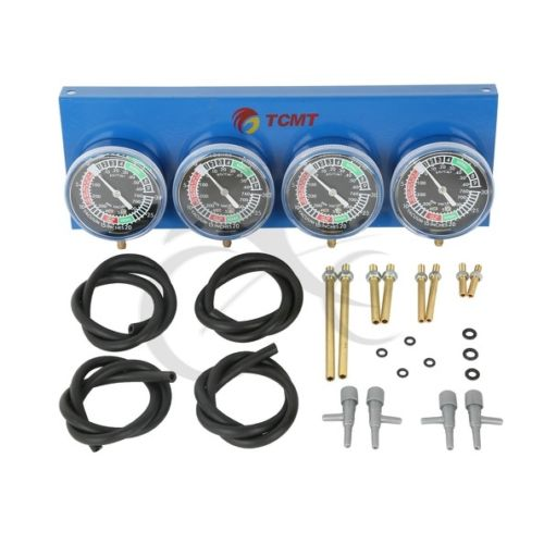 Фотография Universal 4-Carb Carburetor Synchronizer Set kit For Motorcycle available New