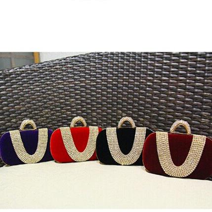 Women's handbag day 2015 bag clutch bridal bag marry bag red fashion evening bag chain handbag(China (Mainland))