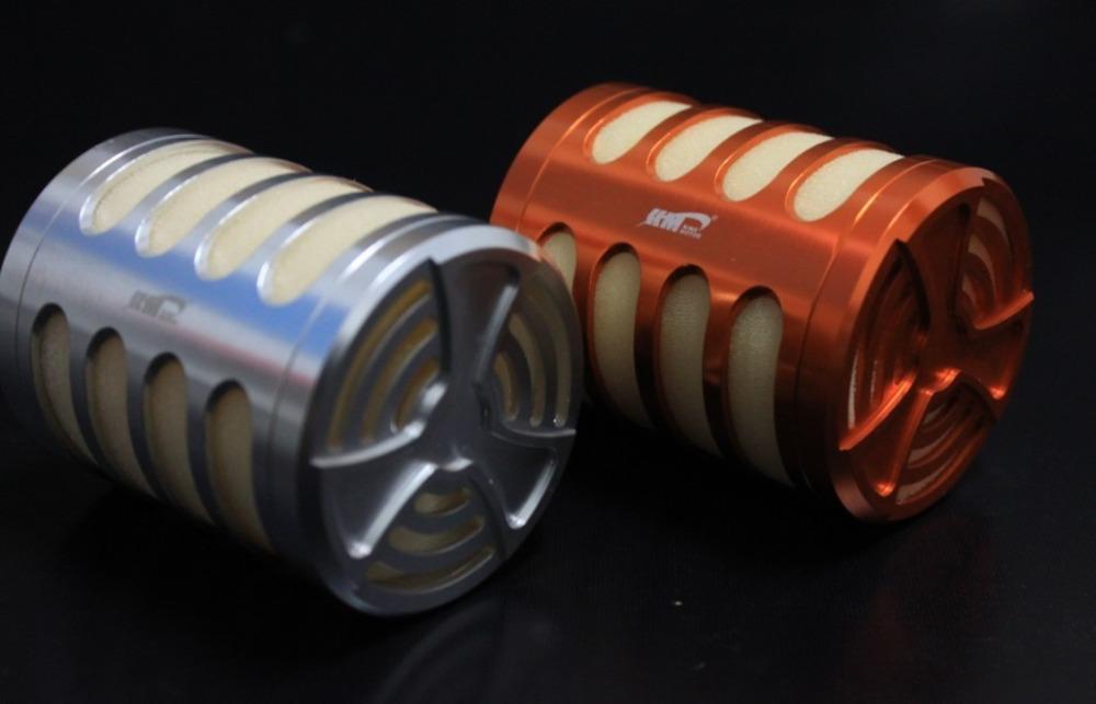 King Motor Baja Alloy air filter fit zenoah CY engine parts for 1/5 Hpi baja 5B Parts RC CARS(China (Mainland))