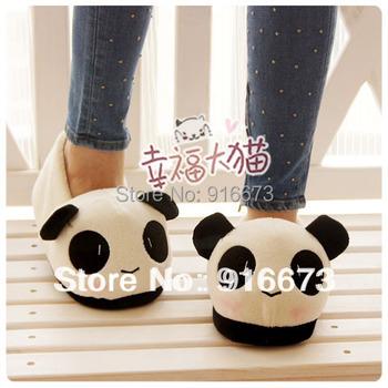 Indoor slipper for lovers Thermal slipper for Winter Cartoon slipper Panda face
