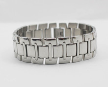2014 New 316L stainless steel silver watch band link  custom bracelets jewelry OEM and wholesale is welcome, make as request