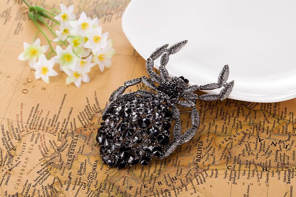 Большой размер брошь пен прекрасный вечер ну вечеринку годовщина броши bijuterias благородный горный хрусталь хиджаб аксессуары коралловые Broches