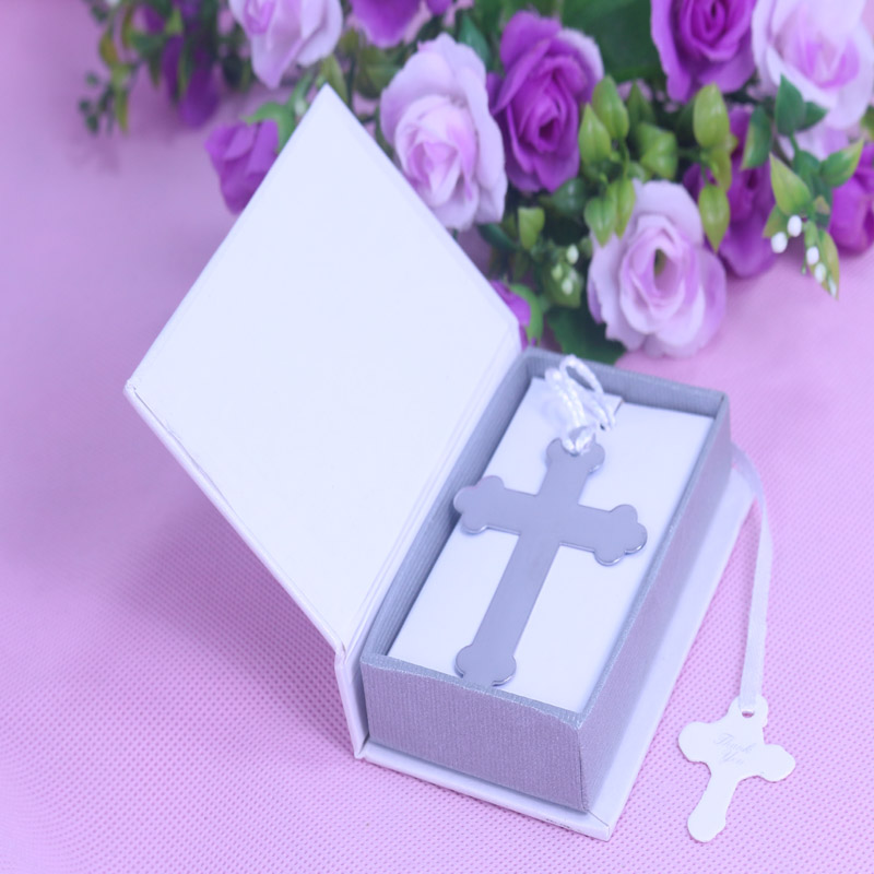 10PCS Boxed Bible Cross Bookmark personalized wedding favors and gifts event party supplies baby shower souvenir wedding favor(China (Mainland))