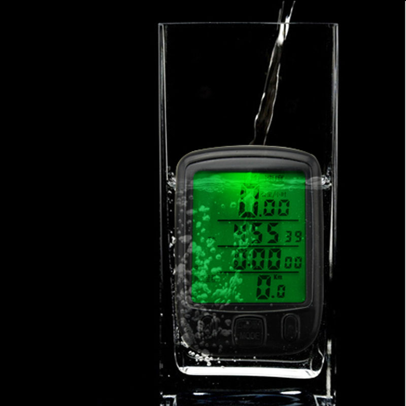 Гаджет  Digtal Speedometer Odometer LCD Waterproof Bike Bicycle Cycling Computer Speedo None Спорт и развлечения