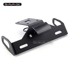 For KAWASAKI Z1000 2014 2015 2016 Black Motorcycle Tail Tidy Fender Eliminator Registration License Plate Holder Bracket LED