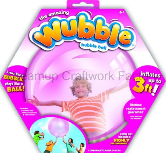 2015 wubble bubble ball children outdoor fun sprots game toy ball ultralarge big rubber ball. Black Bedroom Furniture Sets. Home Design Ideas