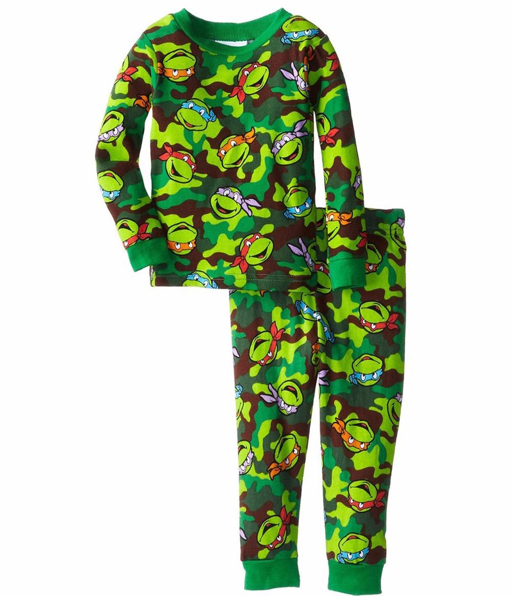 Retail Cotton Baby Pyjamas Kids Boys Clothes Long Sleeve