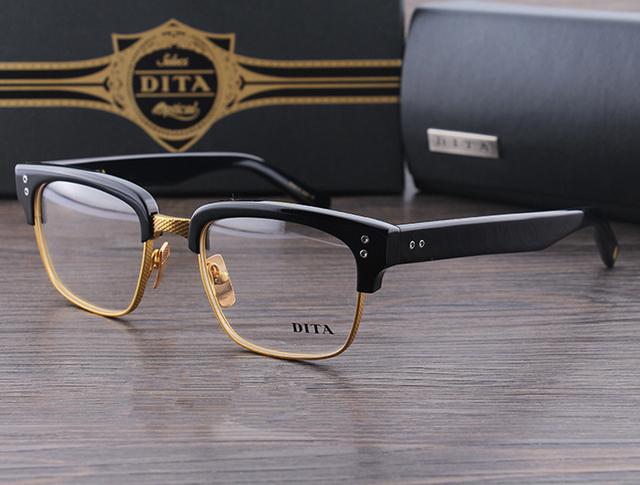 Сша популярные ретро дита очки бекхэм нежный мужчины анти-близорукости чтения очки ...