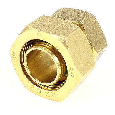 "1"" to 3/4"" PEXworx Pex-Al-Pex Compression x FPT Brass Pipe Fitting(China (Mainland))"
