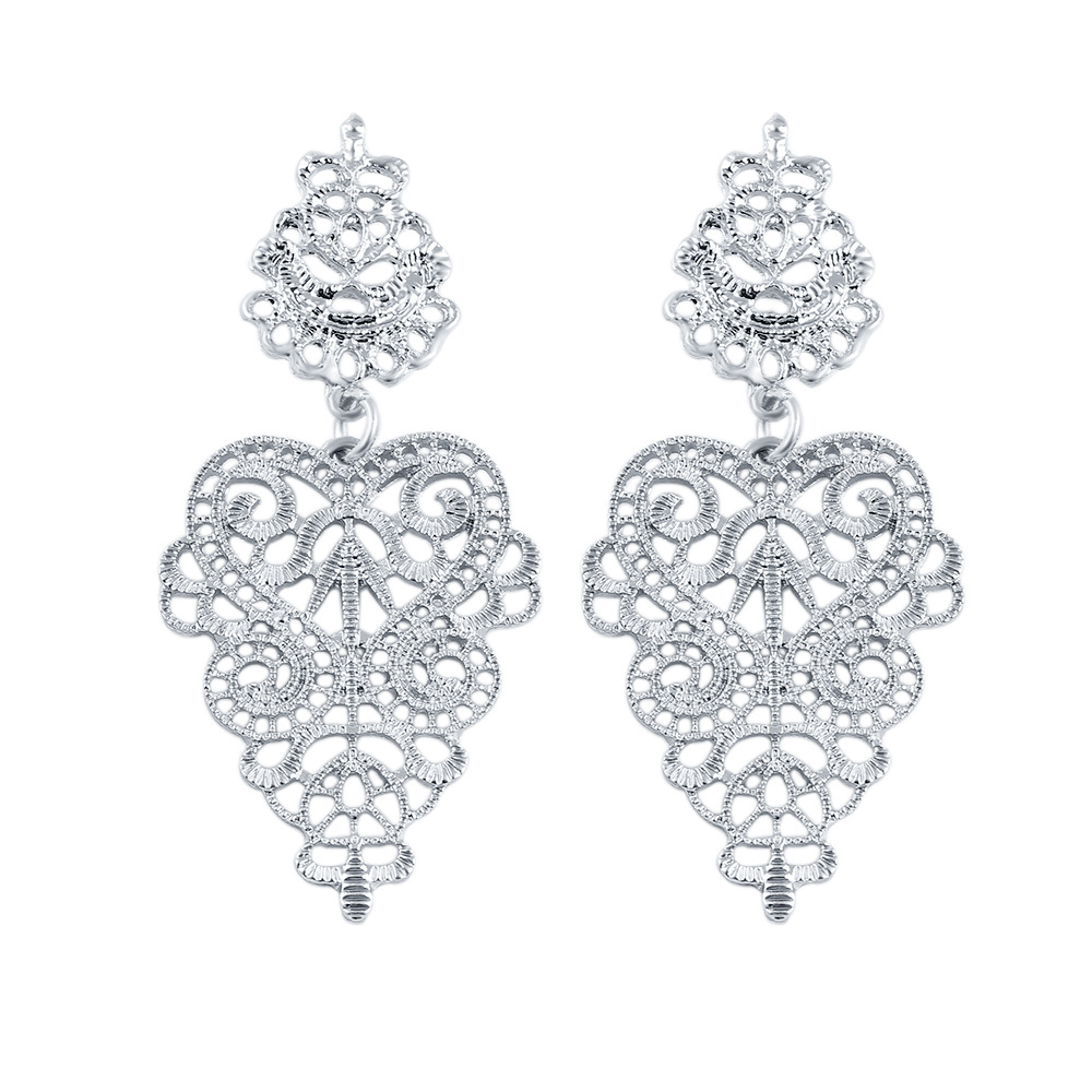 Europe and the stylish new cut flower earring Stud wholesale aliexpress explosions factory direct with free shipping(China (Mainland))
