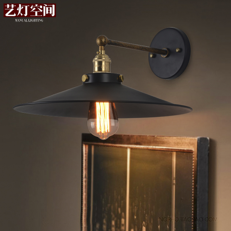 Simple Nordic American Originality Retro Loft Wall Lamp Diameter 230mm / 360mm<br><br>Aliexpress