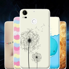High Quality Colored Drawing TPU Gel Soft Painted Case Cover For HTC Desire 10 Pro(China (Mainland))