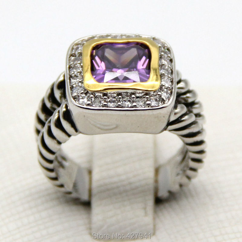 Free shipping Wholesale Petite Albion Ring with 7mm Blue Onyx and Crystal and Gold<br><br>Aliexpress