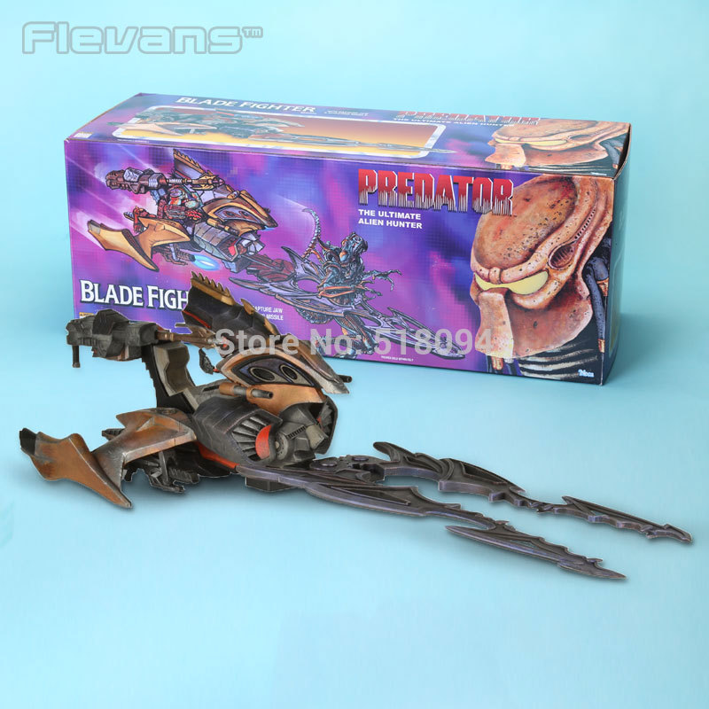 NECA Predator The Ultimate Alien Hunter Blade Fighter with Capture JAW & Shooting Missile Collectible Toy 20