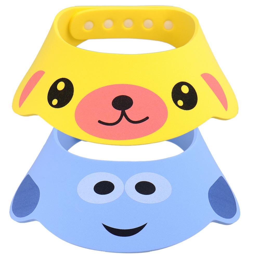 Baby Care Adjustable Baby Shampoo Cap Shower Bathing Bathy Protect Soft Cap Hat Children Bonnet Kds Hats(China (Mainland))
