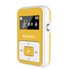 New Original Rui ZU X12 sports MP3 car FM transmitter HIFI lossless 8GB music player with screen recording support 128gb card(China (Mainland))