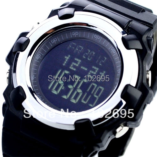 Digital Sport Watch with Time Alarm Stopwatch Weather Forecast  Air Pressure  Height Air Pressure Temperature<br><br>Aliexpress