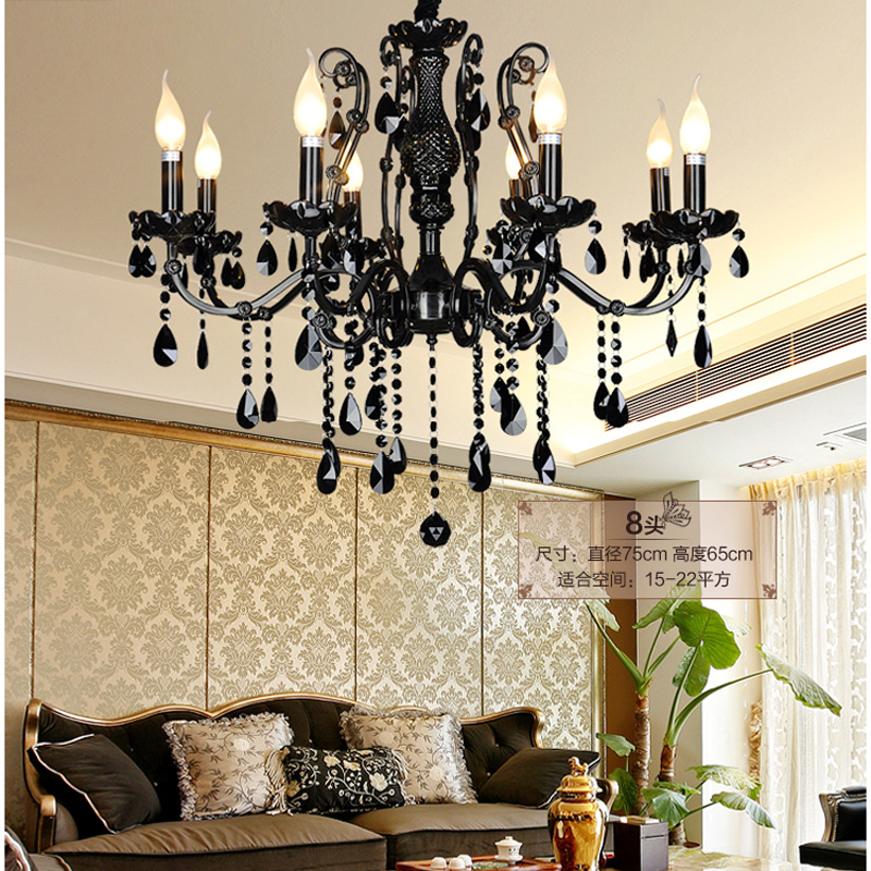 Modern black chandelier bedroom caboche chandelier vintage