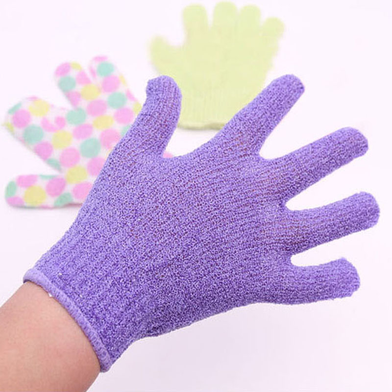 10pcs/lot Person Care Exfoliating Spa Bath Mitt Replacing Loofah Skin Care Bath Glove Scrubber BG2010(China (Mainland))