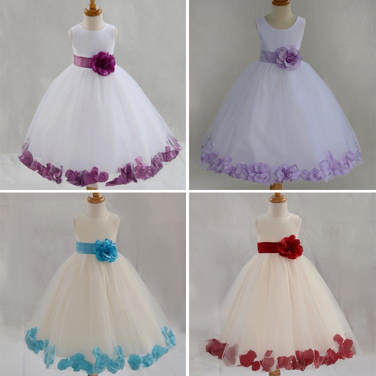 New 2015 Summer dresses for Girls flower girl Dress Kids Clothing Children's Wear NOVA Fashion Toddler Princess Dress baby girl(China (Mainland))
