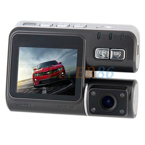"""HD 720P Camera Car Black Box 120 degree wide angle Car DVR i1000 Digital Recorder 2.0"""" TFT LCD Screen Support Dropshipping(China (Mainland))"""