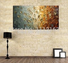 100%Handpainted Abstract Modern Art Hang Oil Painti