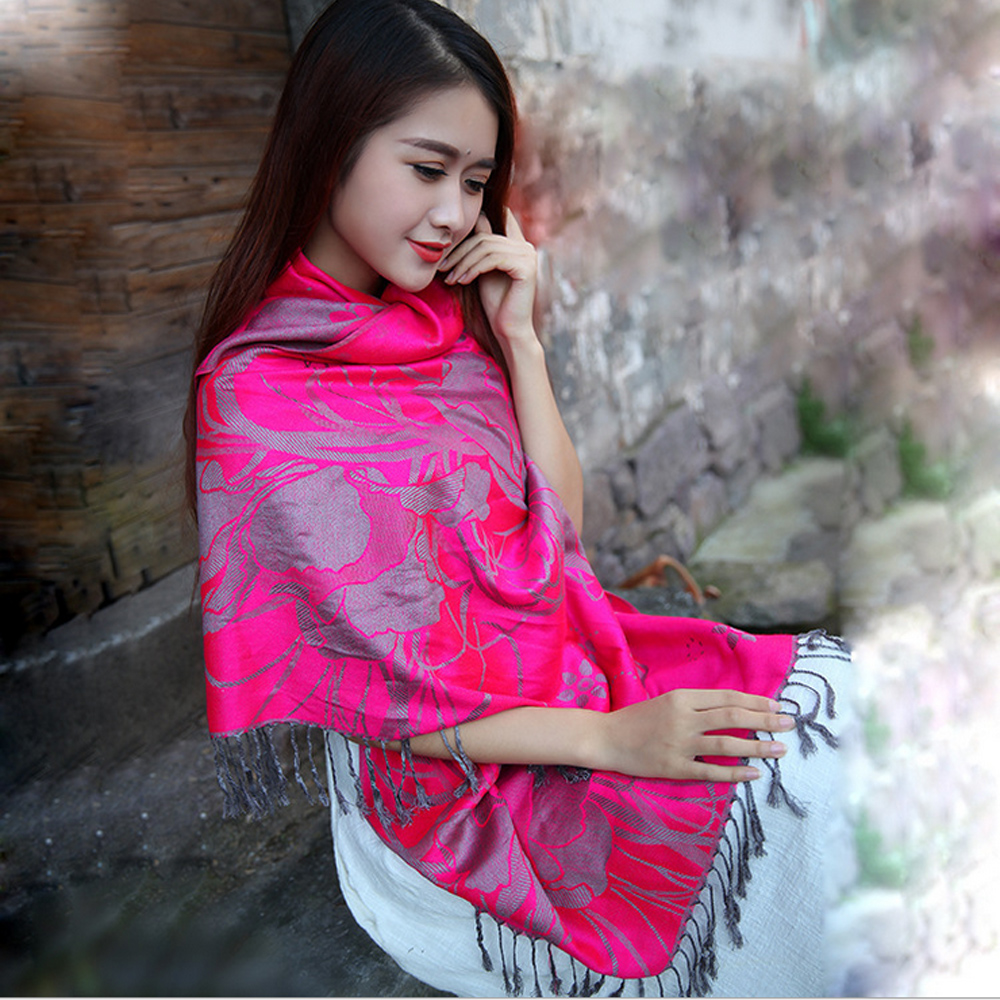 2016 new national style restoring ancient ways long animal elephants warm scarf female adornment photograph prevented shawls(China (Mainland))