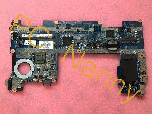 612852-001 For HP Mini 210 laptop motherboard Intel Atom N450 Cpu onboard DDR2 Intel GMA 3150 Tested(China (Mainland))