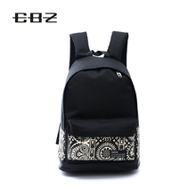 2015 Fashion Genuine Quality Floral Canvas Bag Schoolbag Backpack for Teenager Girls Laptop Bags Printing Women Backpacks SJB020(China (Mainland))